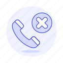 actions, block, call, contact, number, phone icon