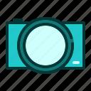 camera, gadget, lens, modern, phone, technology icon