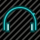 gadget, headphone, modern, phone, sound, technology icon