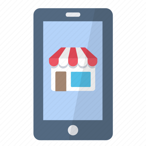 app, application, buy, marketplace, phone, smartphone, store icon
