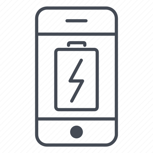 app, application, battery, charge, phone, power, smartphone icon