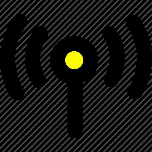 mobile, phone, signal, wifi, wlan icon