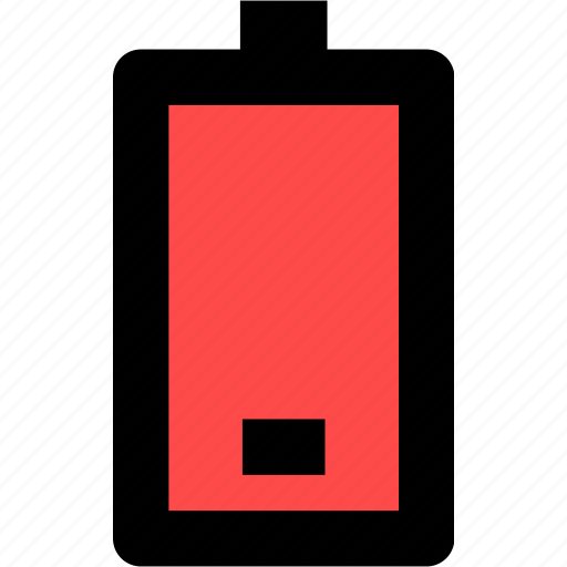battery, mobile, phone, power icon