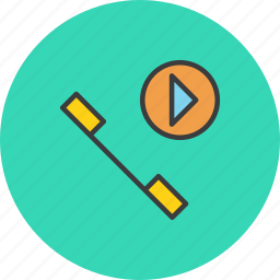 call, communication, internet, multimedia, phone, telephone, video icon