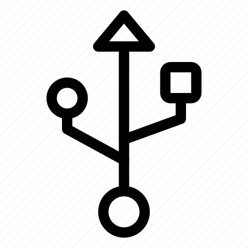 connection, mobile, network, phone, signal, usb icon