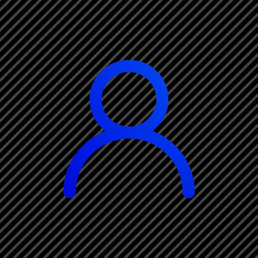 account, avatar, color, people, profile, user icon