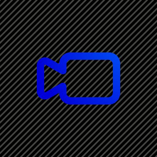 camera, cinema, color, film, movie, video icon
