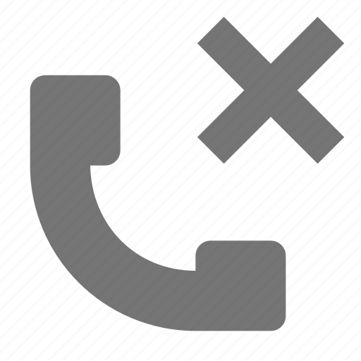 close, delete, phone, telephone icon