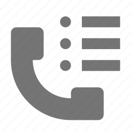 contacts, list, phone, telephone icon