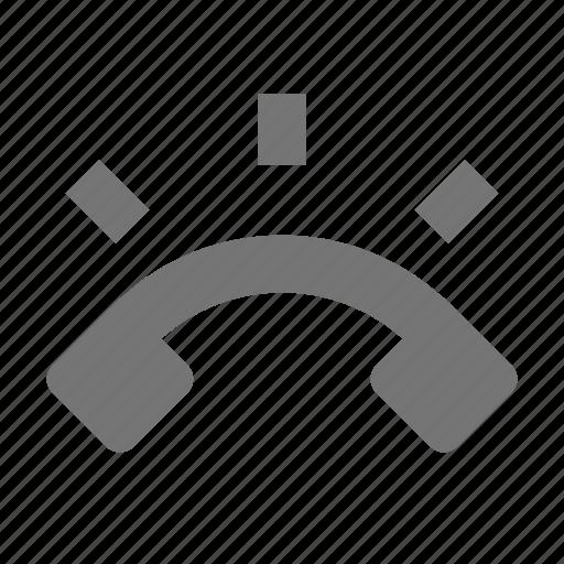 phone, ring, volume icon