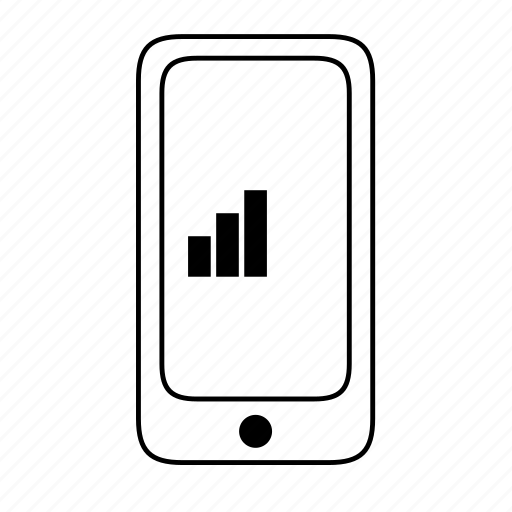 connectivity, moderate, network, reception, signal, strength icon