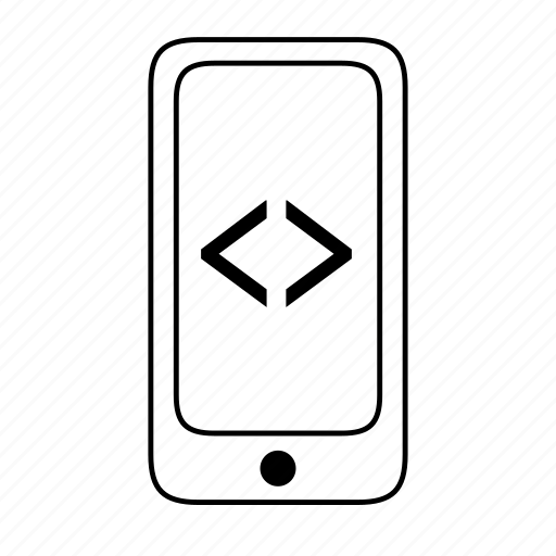 cellphone, code, developers, local, mobile, programming, rwd icon