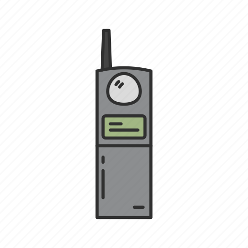 Call Old Phone Telephone Walkie Talkie Icon