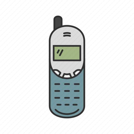 cellphone, nokia, old phone, telephone icon