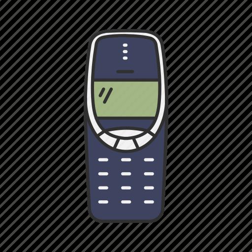 cell phone, classic phone, nokia, thirty three ten icon