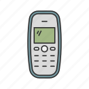 call, cellphone, keypad phone, old phone icon