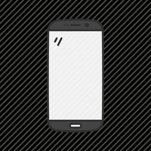 edge, gadget, samsung, smartphone icon