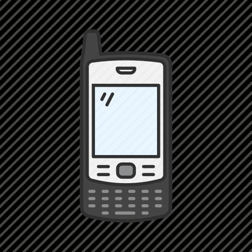 cellpohne, classic phone, sliding phone, text icon