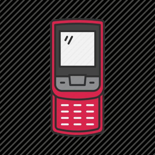 classic phone, keypad phone, nokia, text icon