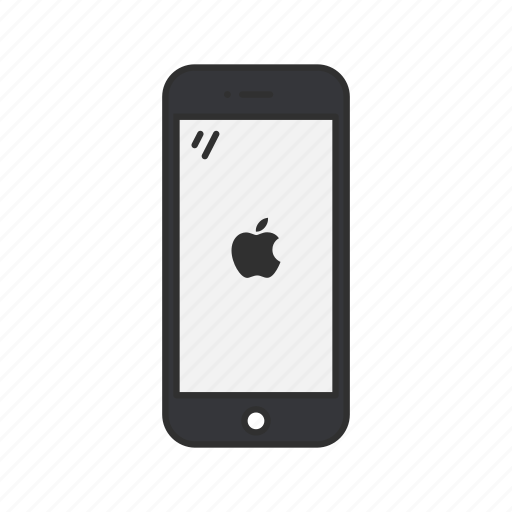 apple, iphone, phone, smartphone icon
