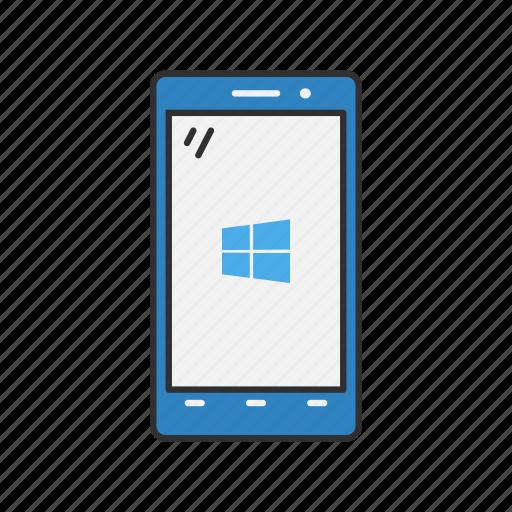 phone, smartphone, windows, windows phone icon
