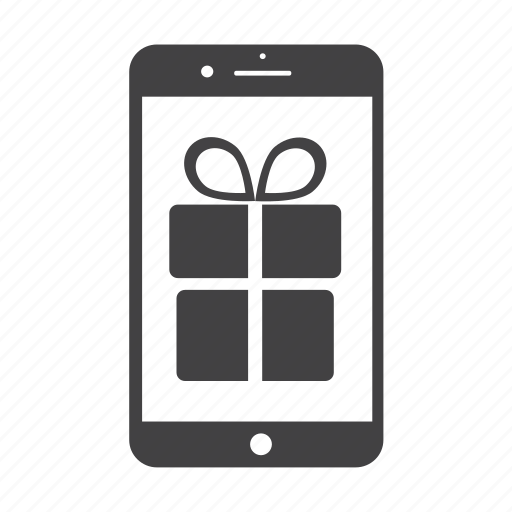 gift, gratis, iphone, phone, present icon