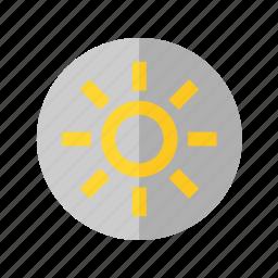 brightness, camera, illumination, light, photo icon