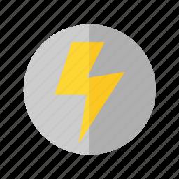 camera, flash, function, light icon icon