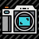 camera, digital, format, medium, photo
