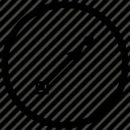 draw, form, gradient, instrument, tool icon