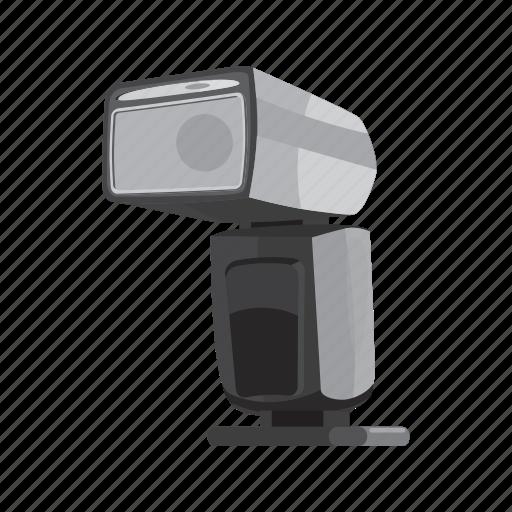 blog, cartoon, flash, lamp, photoflash, photography, studio icon