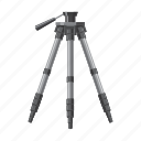 blog, camera, cartoon, equipment, photography, technology, tripod icon