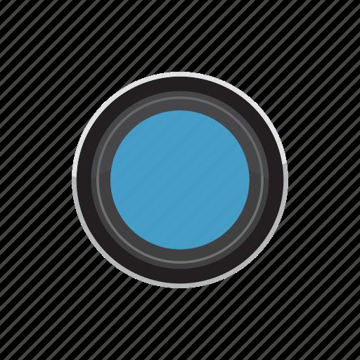 blog, camera, cartoon, lens, optic, optical, zoom icon
