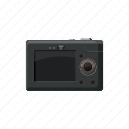 blog, camera, cartoon, display, equipment, photo, photography icon