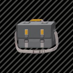 bag, blog, camera, cartoon, case, handle, suitcase icon