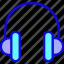 audio, earphone, handsfree, headphone, headphones, headset, listen icon