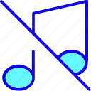 audio, logo, media, music, mute, note, sound