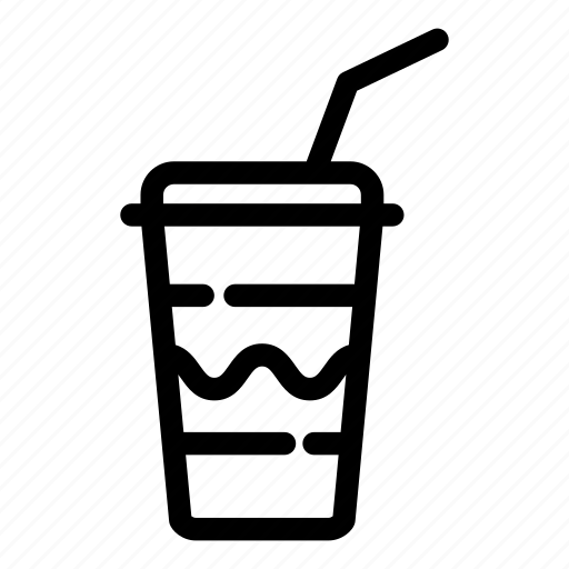 drink, film, glass, lemonade, media, photo, video icon
