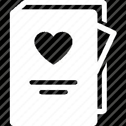album, engage, love, romantic, story, wedding icon