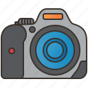 camera, digital, dslr, photography, professional icon