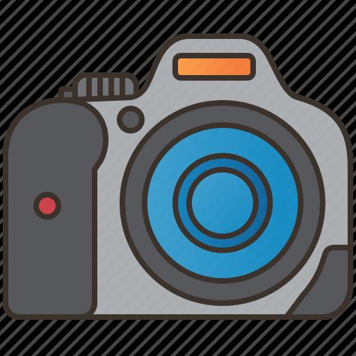 camera, digital, dslr, photography, professional icon