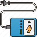 battery, charger, electric, power, recharge icon