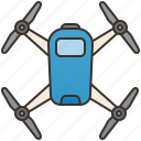 aviation, camera, drone, flying, surveillance icon