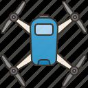 aviation, camera, drone, flying, surveillance