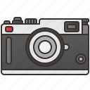 camera, film, manual, photo, vintage icon