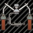 cinematography, device, gimbal, handheld, stabilization icon