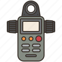 device, light, measurement, meter, sensor icon