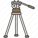 equipment, handle, stability, stand, tripod icon