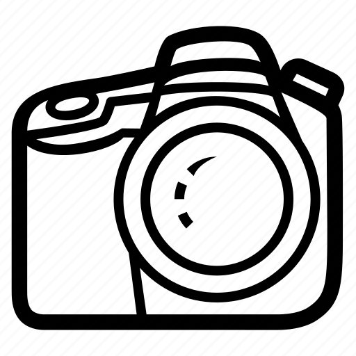 camera, device, digital, front, lens, photo, photography icon
