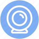 cam, camera, computer camera, secure, video, video calling, webcam icon
